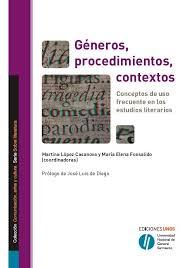 Géneros, Procedimientos, Contextos...