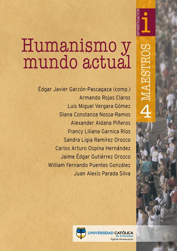 Humanismos y mundo actual. Departamento de Humanidades