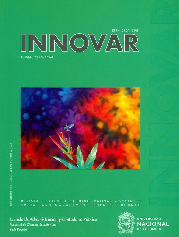 Revista Innovar Vol.8 No. 69