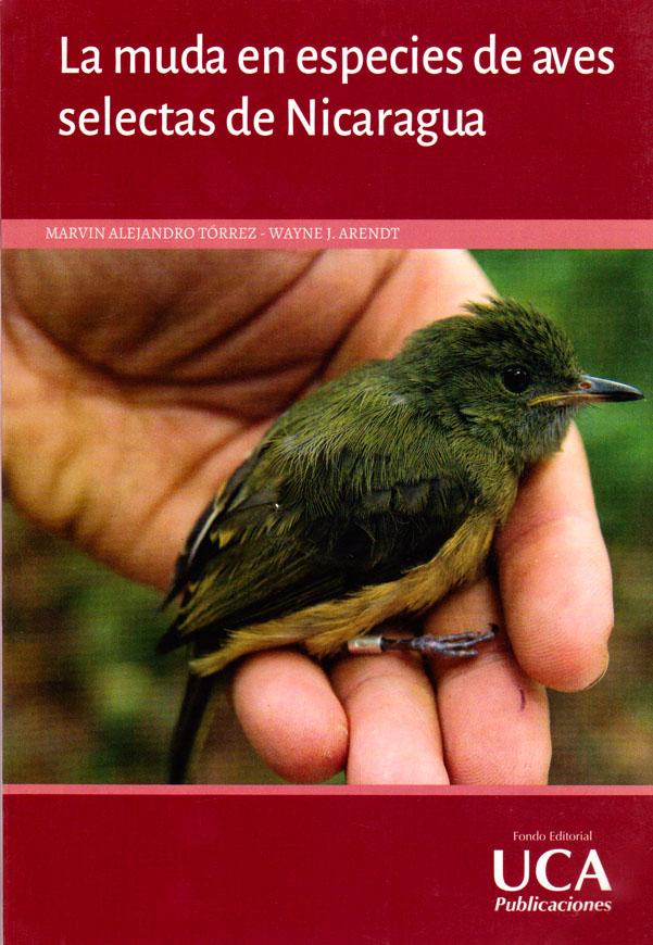 La muda en especies de aves selectas de Nicaragua
