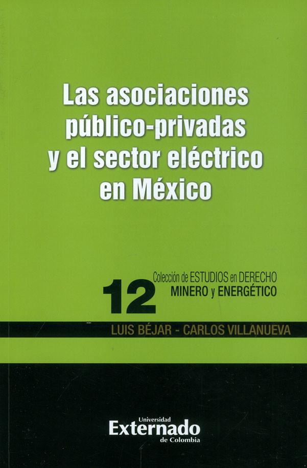 Las Asociaciones Público-privadas Y El Sector Eléctrico en México. Colección de estudios en derecho minero y energético 12