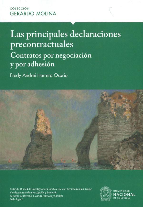 Las Principales Declaraciones Precontractuales