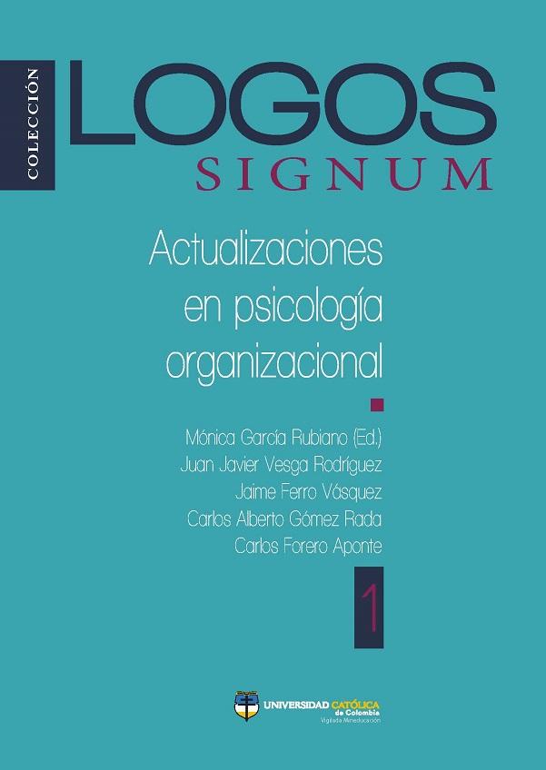 Logos Signum. Actualizaciones en psicología organizacional