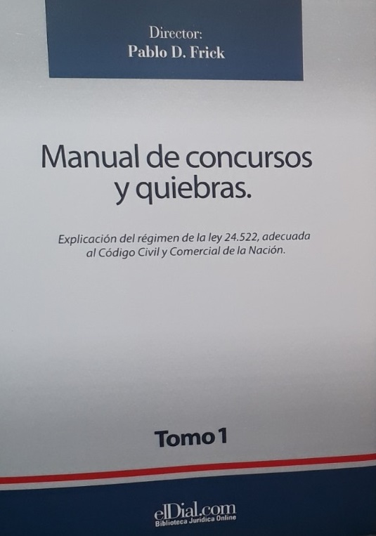 Manual De Concursos Y Quiebra Tomo 1