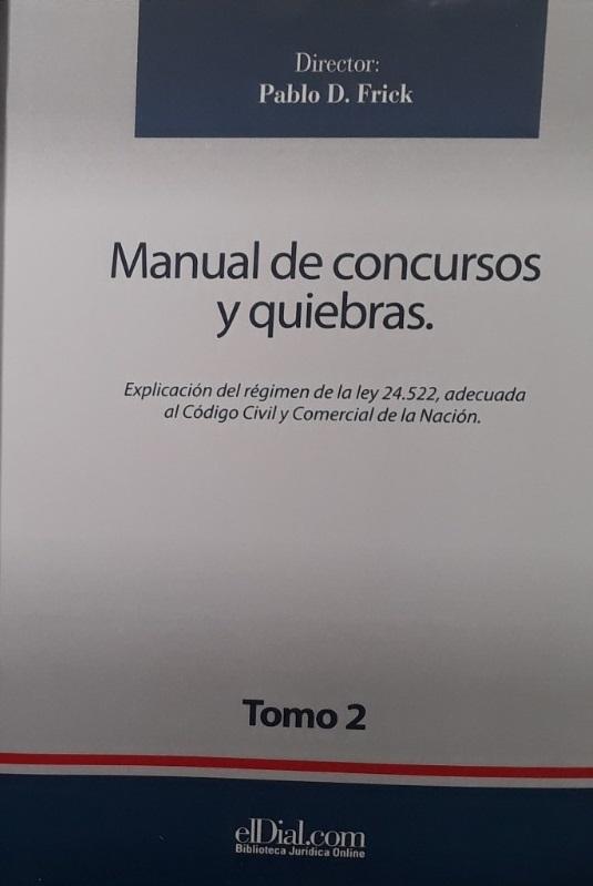 Manual De Concursos Y Quiebra Tomo 2