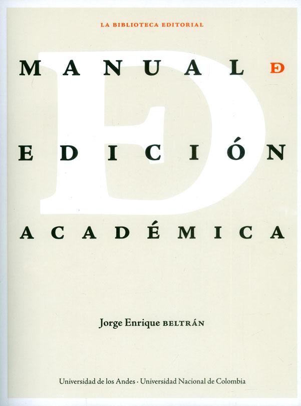 Manual de edición académica