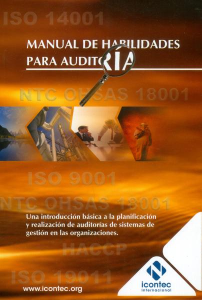 Portada de la publicación Manual de habilidades para auditoría – Una introducción básica a la planificación y realización de auditorías de sistemas de gestión en las organizaciones