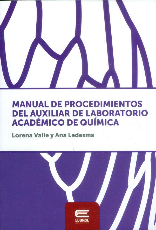 Manual De Procedimientos Del Auxiliar De Laboratorio Académico De Química