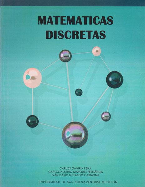 Libro Impreso Matemáticas Discretas U. de San Buenaventura