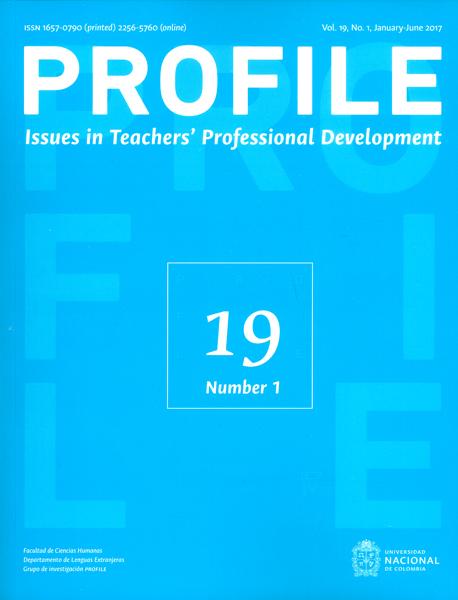 Profile. Issues in teachers` professional development Vol.19 No1