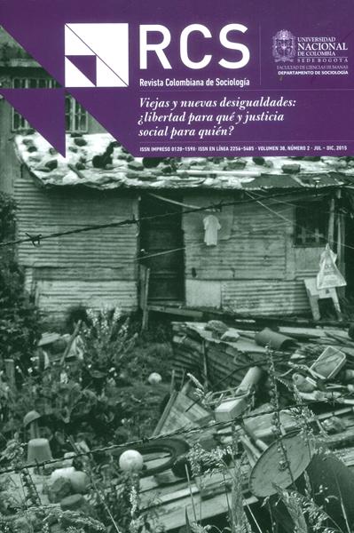 Revista Colombiana de Sociología Vol,38 No. 2