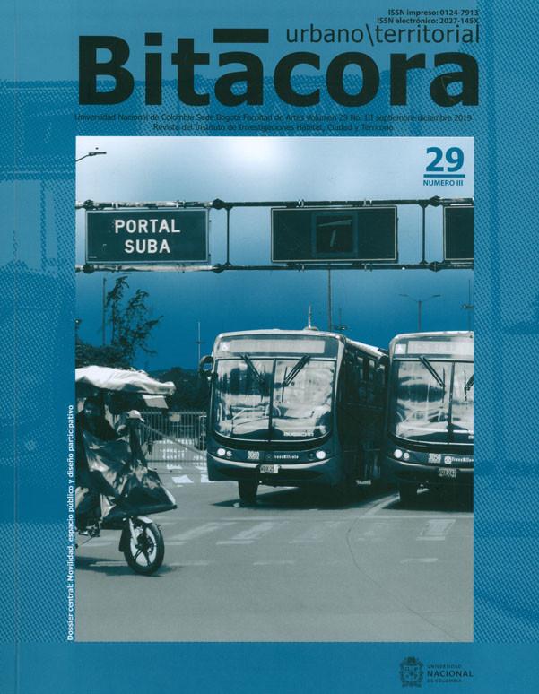 Revista Bitácora. Urbano/Territorial Vol. 29. Número III