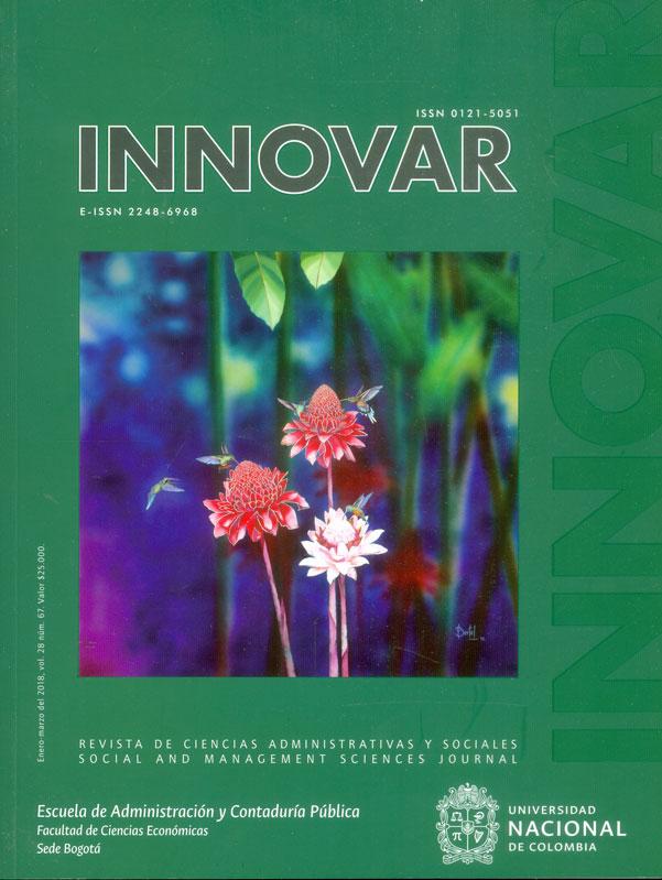 Revista Innovar Vol. 28 No.67