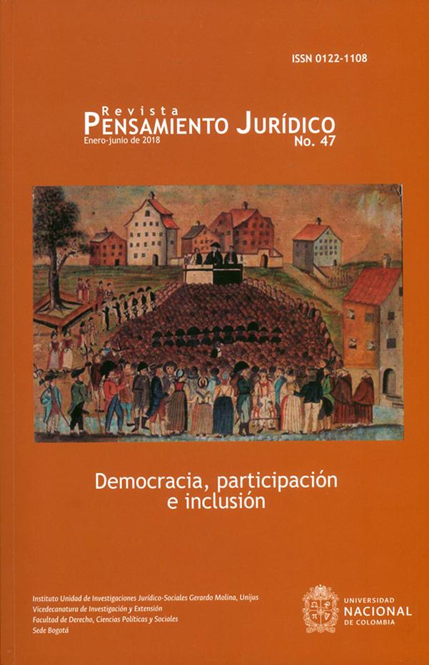 Revista pensamiento jurídico N°.47. Democracia, participación e inclusión