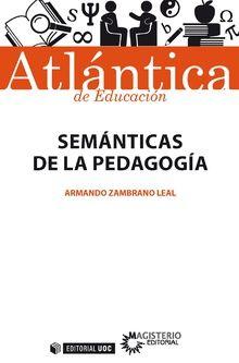Semánticas De La Pedagogía