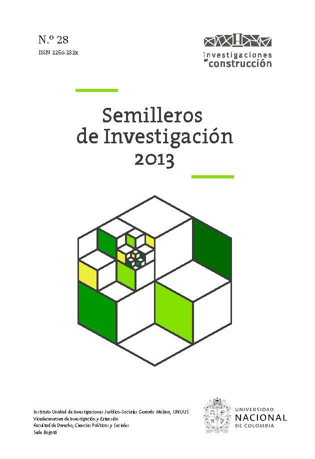 Semilleros de Investigación 2013, n.° 28