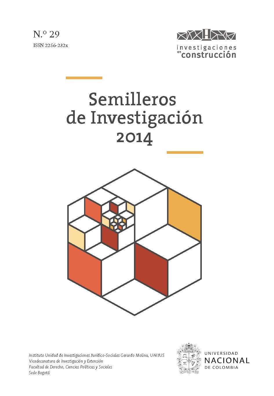Semilleros de Investigación 2014, n.° 29