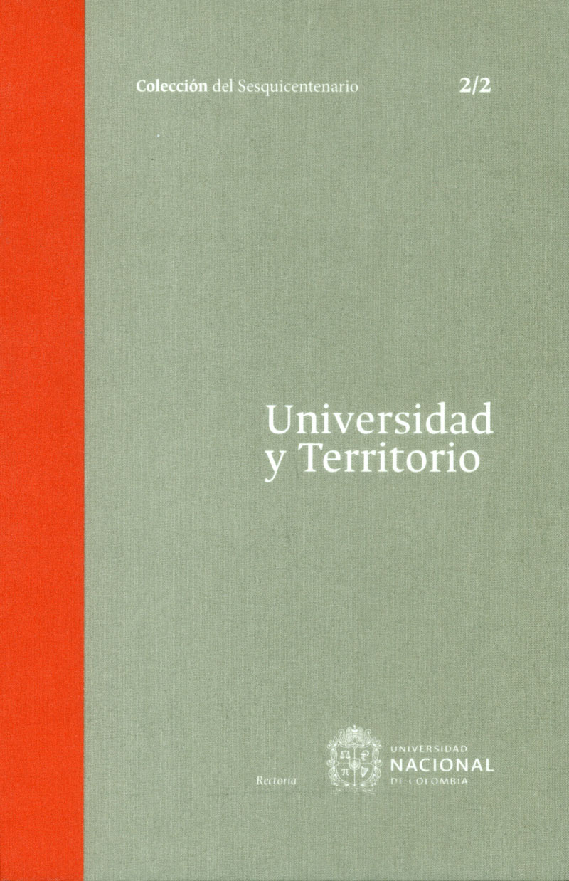 Universidad y territorio Tomo 2. 2/2