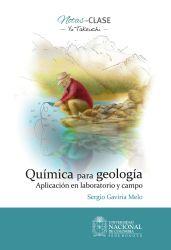 Química para geología. Aplicación en laboratorio y campo