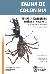 Fauna de Colombia: Avispas cazadoras de arañas de Colombia. (HYMENOPTERA: POMPILIDAE)