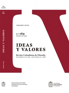 Revista ideas y valores N° 169