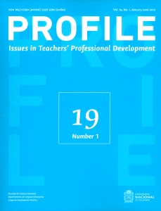 Profile. Issues in teachers` professional development Vol.19 No1
