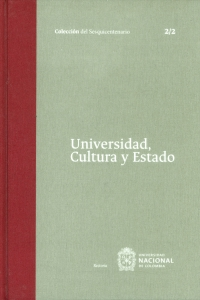 Universidad, Cultura y Estado Tomo 2. 2/2
